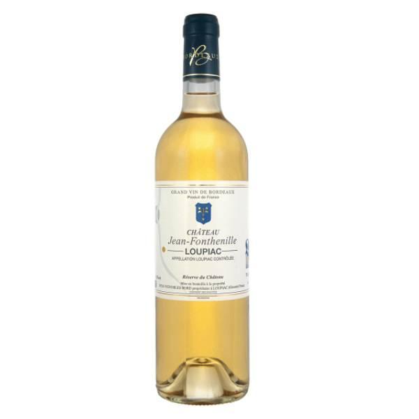 CHATEAU JEAN FONTHENILLE LOUPIAC 波尔多风特利酒庄甜白葡萄酒2013 13.5度