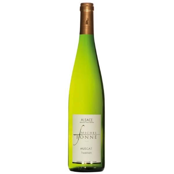 ALSACE MICHEL FONNE MUSCAT 福纳酒庄传统麝香干白葡萄酒2017 12度