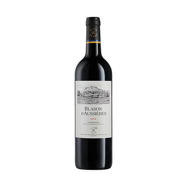 BLASON D'AUSIERES 法国拉菲奥希耶徽纹科比埃干红葡萄酒2018 14.5度