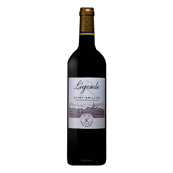 LEGENDE SAINT EMILION 法国拉菲传奇圣埃美隆红葡萄酒2016 13.5度