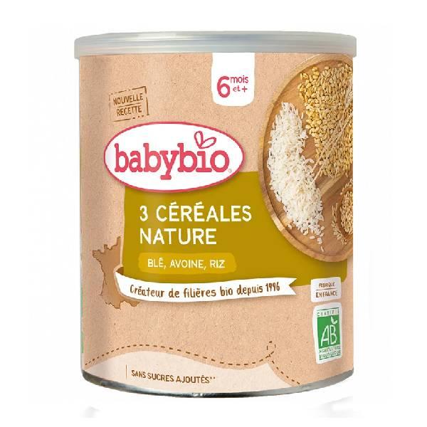 伴宝乐婴儿有机谷物米粉原味220g