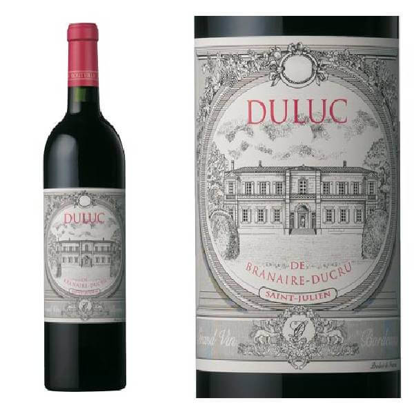 DULUC DE BRANAIRE 法国班尼杜克酒庄副牌干红葡萄酒2013 13度