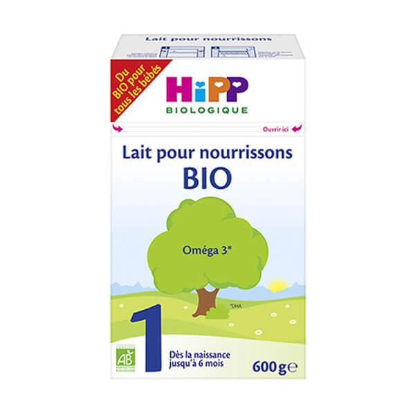 HIPP BIO 喜宝一段有机奶粉600G