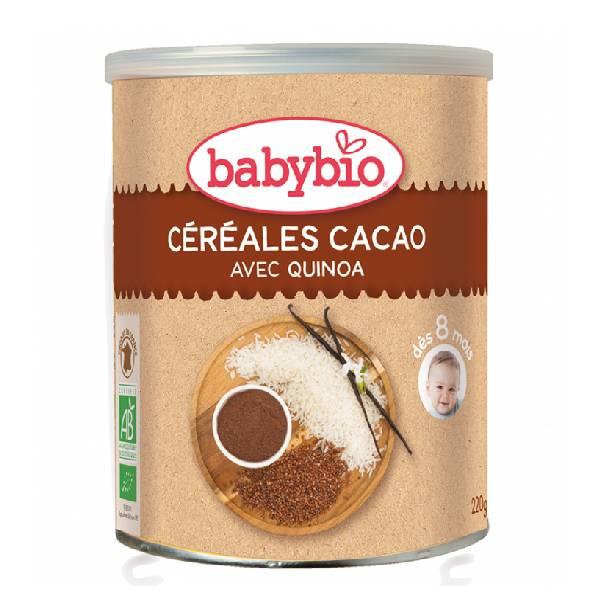 BABYBIO伴宝乐可可口味有机谷物婴儿米粉