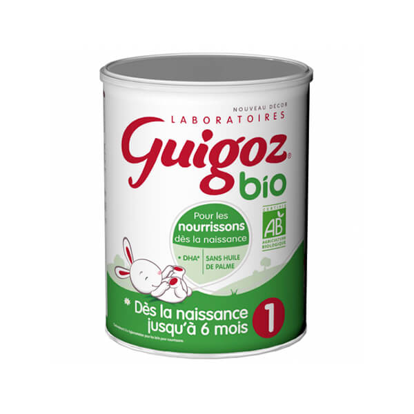 Guigoz Bio古戈士一段有机婴儿奶粉800G