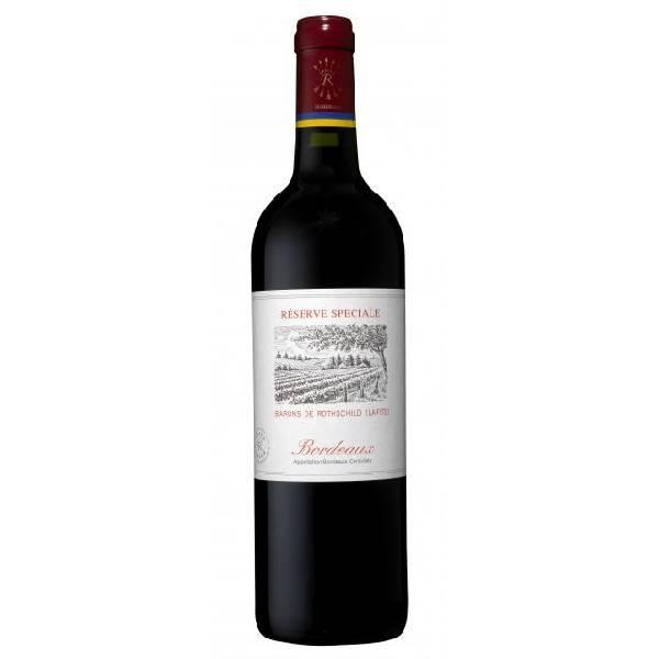 RESERVE SPECIALE BORDEAUX 法国拉菲特级珍藏波尔多红葡萄酒2018 13度