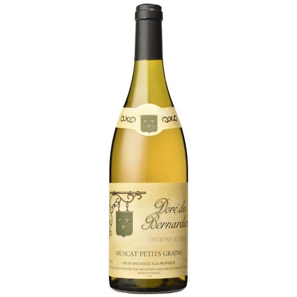 DORE DES BERNARDINS MUSCAT 贝纳丹酒庄小粒白麝香干白葡萄酒2019 14.5度