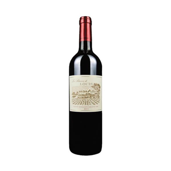 LA RESERVE DE LOUIS 法国路易庄园珍藏圣埃美隆干红葡萄酒2016 14.5度