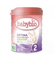 伴宝乐2段近母乳有机婴儿奶粉800G小包
