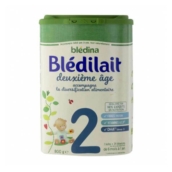 Blédilait贝乐蒂2段标准婴儿奶粉900G小包
