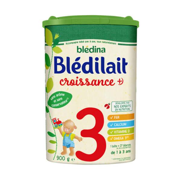 Blédilait贝乐蒂3段标准婴儿奶粉900G小包
