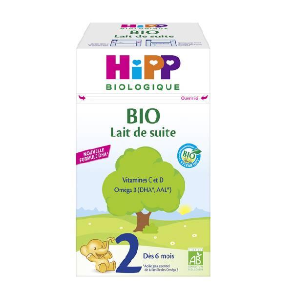 HIPP BIO 喜宝2段有机婴儿奶粉700G小包