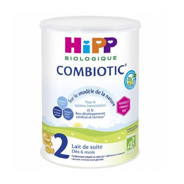 HIPP COMBIOTIC 喜宝2段益生菌有机婴儿奶粉800G小包