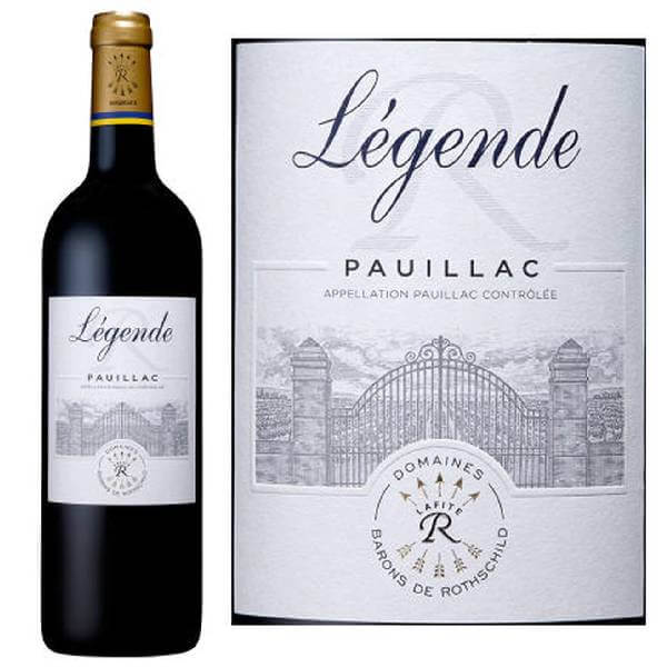 法国拉菲传奇波雅克干红葡萄酒2015 12.5度