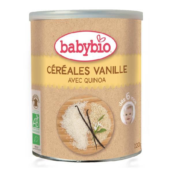BABYBIO伴宝乐香草口味婴儿有机谷物米粉