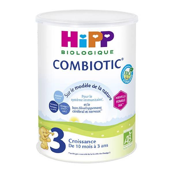 HIPP COMBIOTIC 喜宝3段益生菌有机婴儿奶粉900G小包